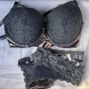Victoria's Secret Bra w/ panty 34DD NWT (L) Panty